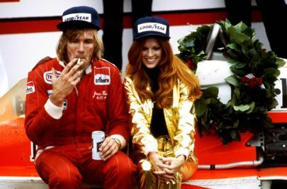 Incredible images of James Hunt's heyday