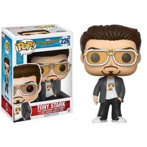 Bobble Head POP Spiderman Homecoming Tony Stark