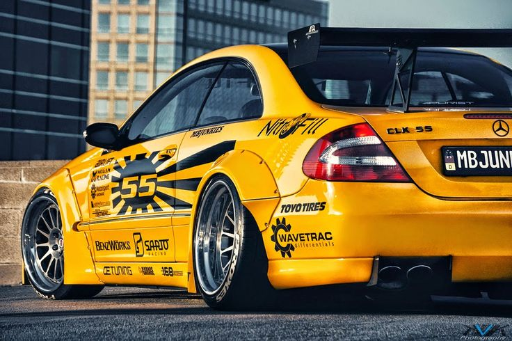 Mercedes-Benz CLK55 AMG Rocket Bunny Body Kit | BENZTUNING | Performance and Style