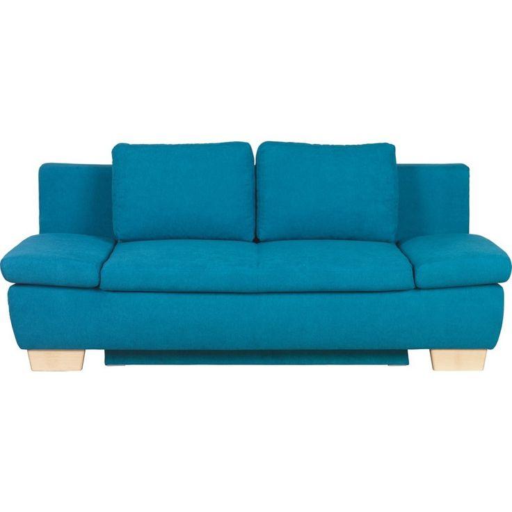 Die besten 25+ Schlafsofa blau Ideen auf Pinterest Industrielle - wohnzimmer rot blau