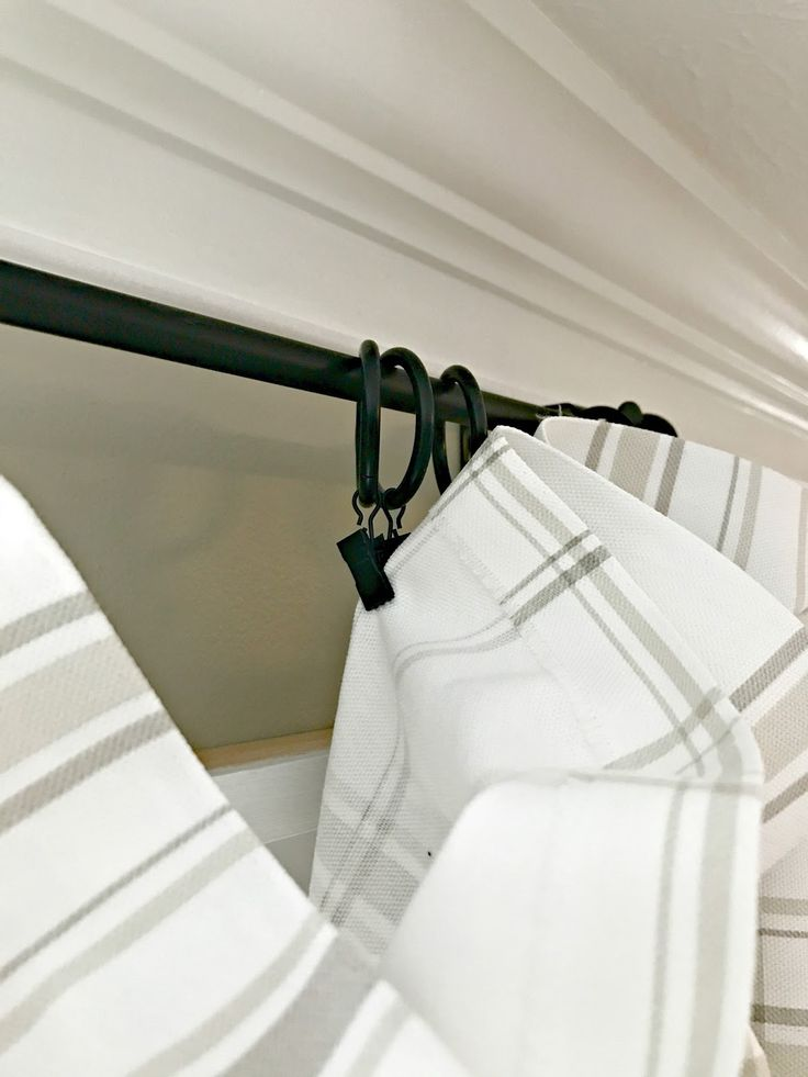 How to hang your drapes for a custom look