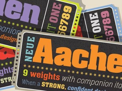 Neue Aachen - Allan Haley is a typography legend and his articles are well worth reading.