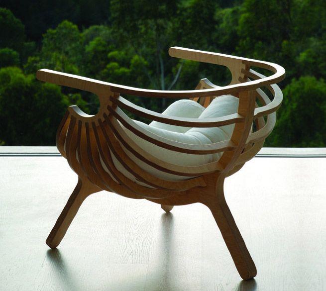 W.01 by Branca Lisboa via cubeme #Chair #Branca_Lisboa