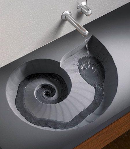 Sweet nautilus sink
