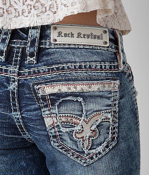 Rock Revival Luiza Straight Stretch Jean - Women's Jeans | Buckle