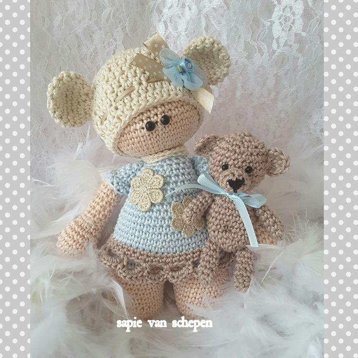pop Teddy, eigen patroon https://www.facebook.com/sapie.vanschepen.7