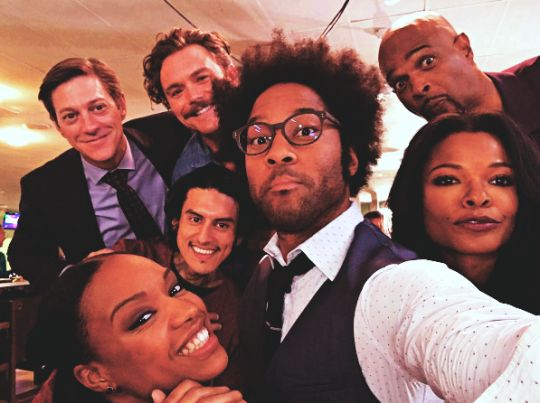 Lethal Weapon Cast!