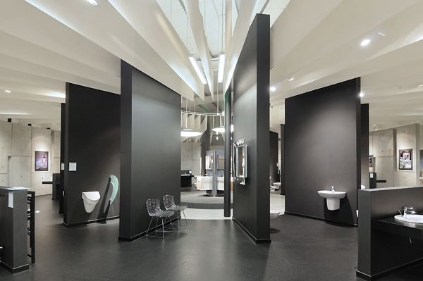 The flagship store of the Sanitec- KOLO group by A+D by A+D Retail Store Design, via Behance