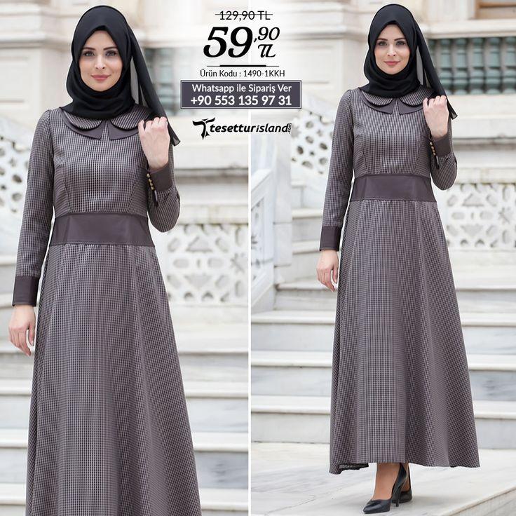 Nayla Collection - Koyu Kahverengi Elbise #tesettur #tesetturabiye #tesetturgiyim #tesetturelbise #tesetturabiyeelbise #kapalıgiyim #kapalıabiyemodelleri #şıktesetturabiyeelbise #kışlıkgiyim #tunik #tesetturtunik