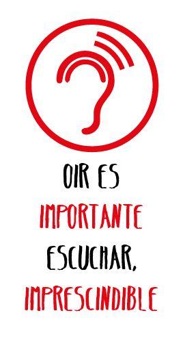 """""""Oir es importante, pero escuchar es imprescindible"""" #Frases #Citas"""