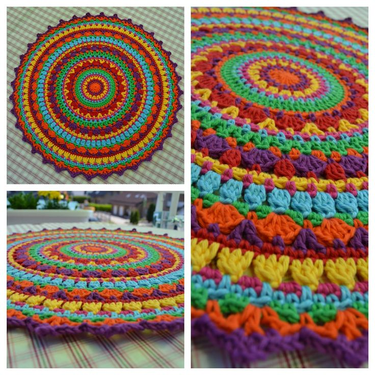 LUCIENNE'S SUMMER MAN- DALA, Part IV — From: http:// marie-lucienne.blogspot.com /2015/07/luciennes-summer-mandala-part-IV.html