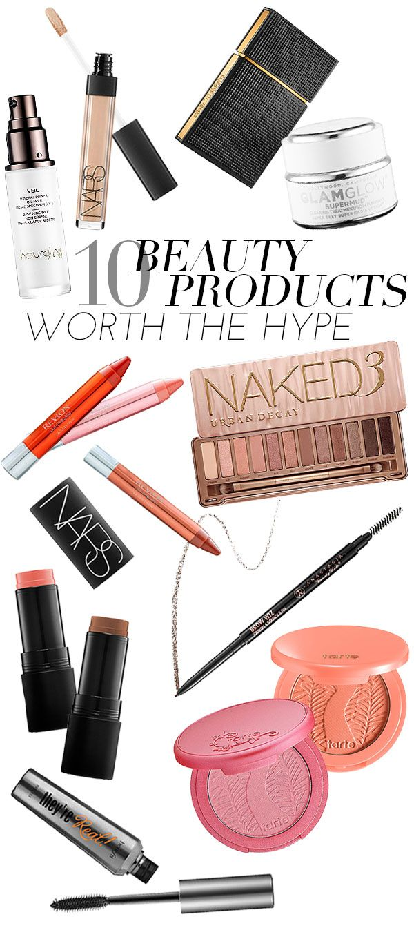 10 Beauty Products That Are TOTALLY Worth The Hype (except not Benefit They're Real for me personally)
