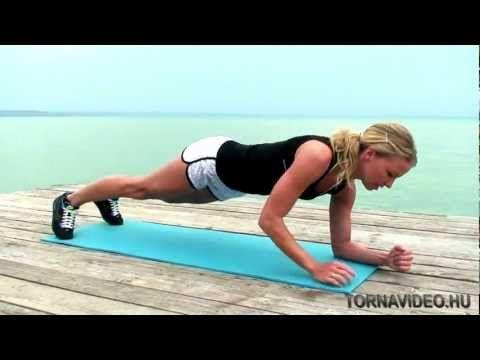 Core Edzés - Törzs és gerinc erősítő gyakorlatok - TORNAVIDEO.HU - YouTube