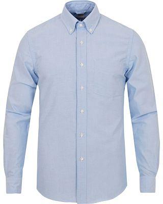 Aspesi Button Down Oxford Shirt Light Blue i gruppen Skjortor / Casual Skjortor hos Care of Carl (13048511r)