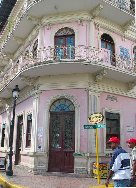 Typical architecture, Santiago de los Caballeros, DOMINICAN REPUBLIC.      (by Skye Hernandez, via Flickr)