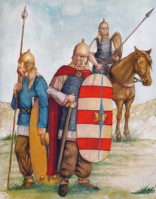 Northern Celtic warriors, not Belgae though