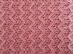 Ravelry: Zig Zag Fixed Loop Stitch pattern by Bich Lan
