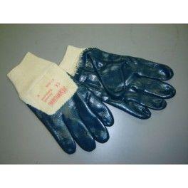 Guante nitrilo azul 47400/ESK Guante nitrilo, azul con puño elástico. Soporte de algodón. Certificación: EN-388 EN-420 Material: Nitrilo. Color: Azul Tallas: 7, 8, 9, 10