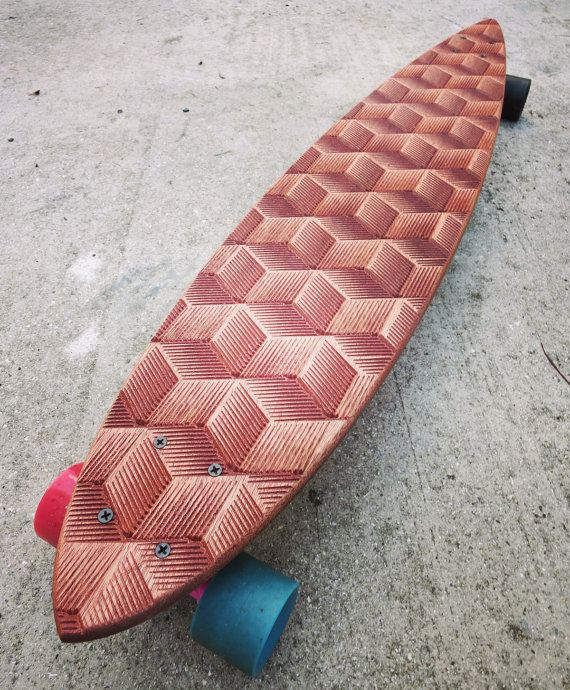 The Iso Longboard by awoodstudio on Etsy