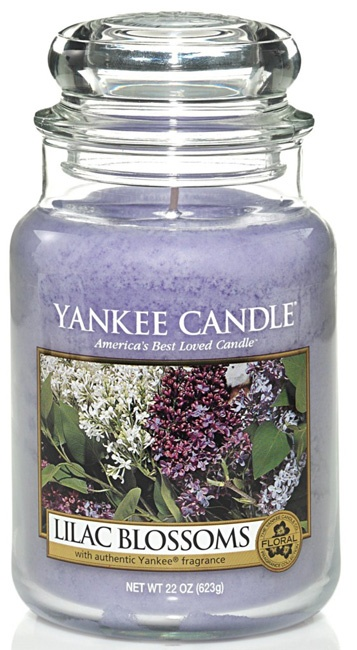 Yankee Candle - Lilac Blossoms - Large Jar Candle - 22 oz @ Sax Drug & Gifts