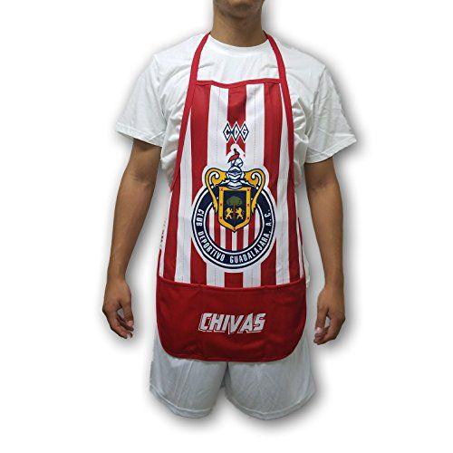 ead658474 Chivas del Guadalajara One Size Apron / Mandil (Red/White ...