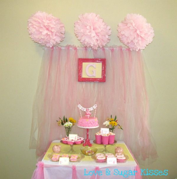 Best 25 tulle backdrop ideas on pinterest tulle for Baby shower tulle decoration ideas