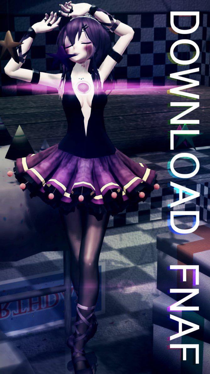 [MMD x FNAF SL] TDA Ballora Model download by RubyRain19