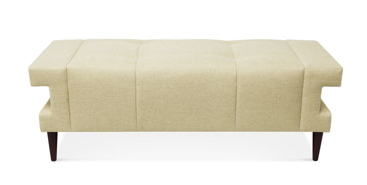 Cleo Bench | Thomas Pheasant Modern Collection | Baker Furniture