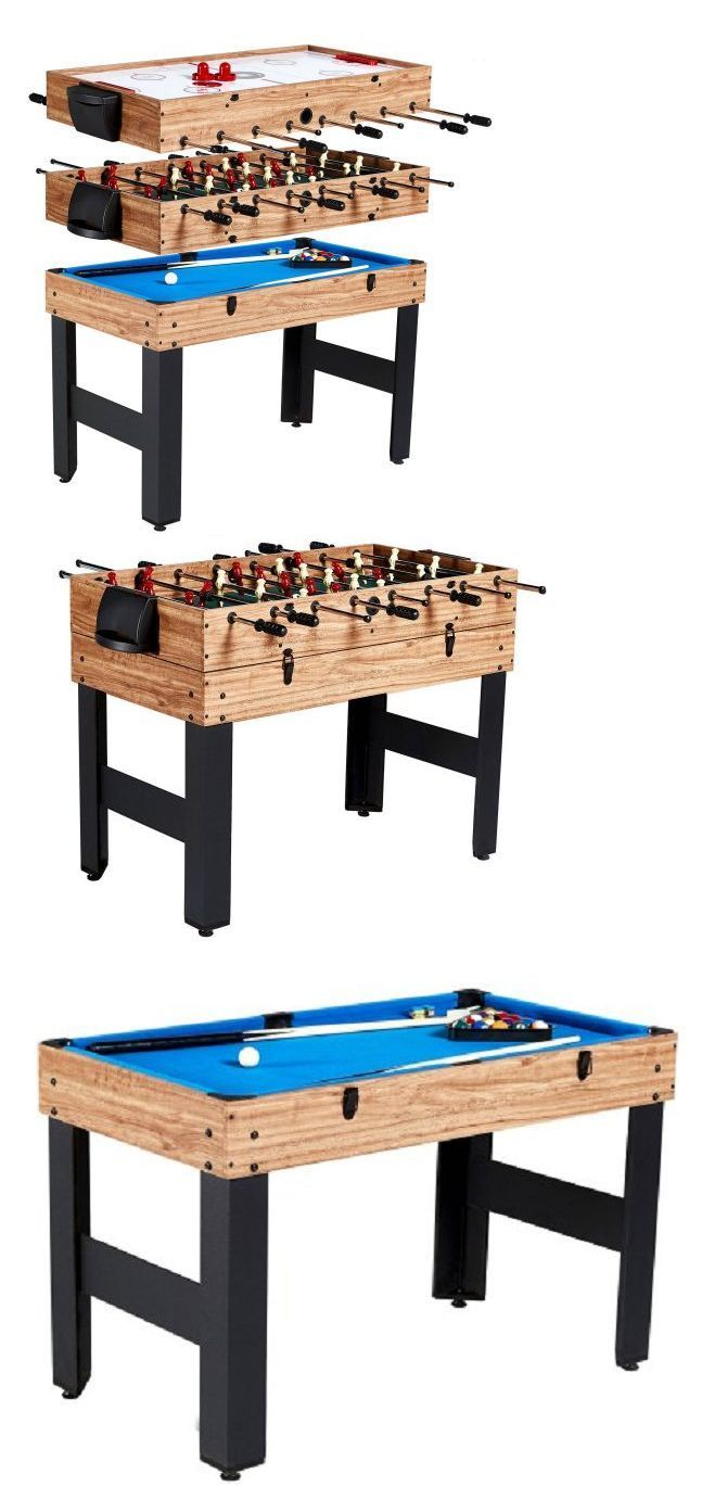 Air Hockey 36275: Game Tables For Game Room Md Air Hockey Foosball Pool 3-N-1 Combination Sports BUY IT NOW ONLY: $130.99