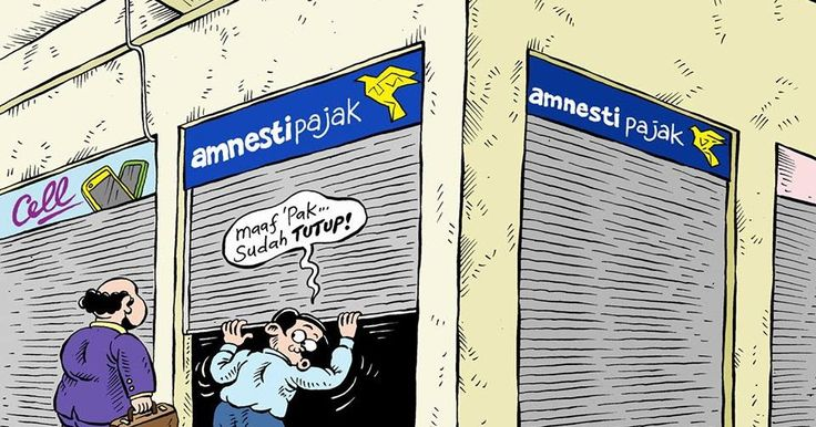 MICE CARTOON - Amnesti Pajak Sudah Closed -  Sumber: Rakyat Merdeka -  Edisi: April 2017