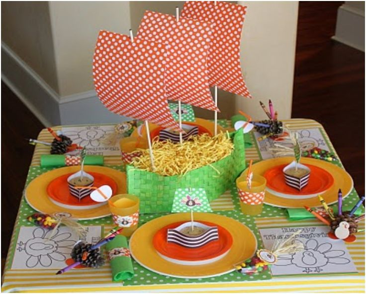 17 best images about thanksgiving on pinterest Thanksgiving table decorations homemade