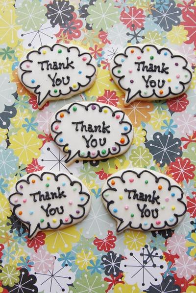 A dozen thank yous