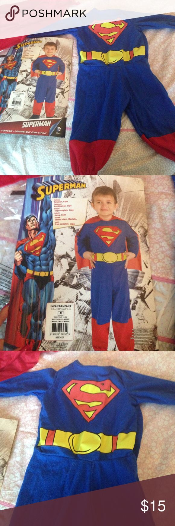 Little Superman Halloween costume Used once for a few photos in great condition. Adorable little superman costume! halloween Costumes Halloween