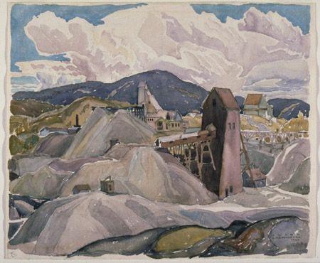 Franklin Carmichael 1932 Cobalt, ON