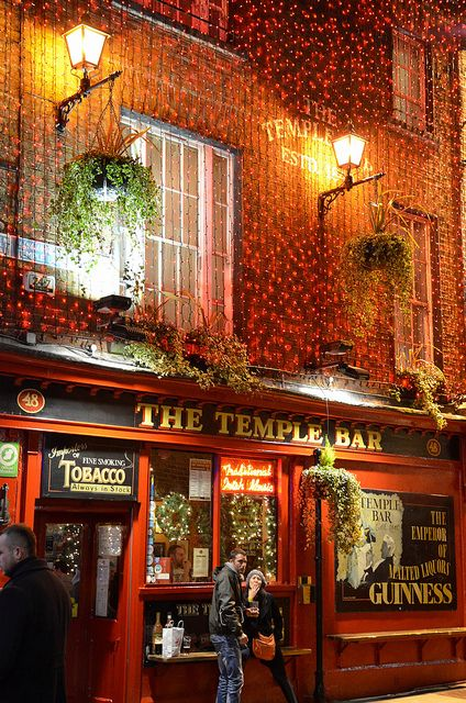 The Temple Bar Dublin, Ireland by MonikaInDublin, via Flickr