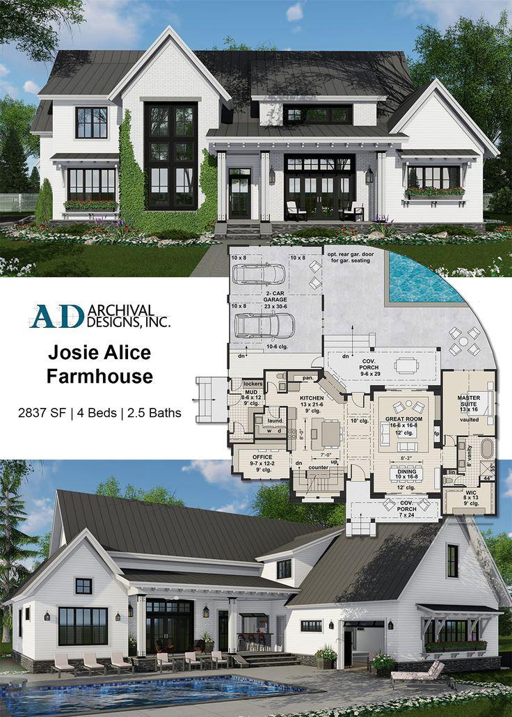 Josie Alice Farmhouse Plan