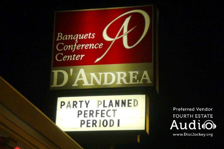 Katie and Chris hosted their wedding celebration at D'Andrea Banquets in Crystal Lake. http://www.discjockey.org/real-chicago-wedding-may-2-2015/