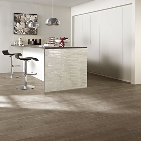 Misingi Tile from Arizonatile.com looks like wood yet is easy to care for and earth friendly porcelain tile.