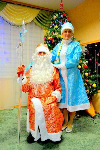 Дед Мороз и Снегурочка #kvantil-event