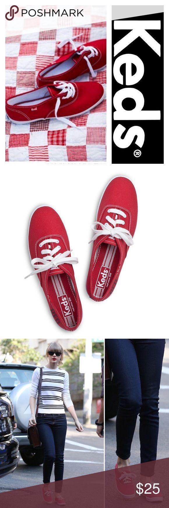 Selling this Keds Champion Originals [Red] on Poshmark! My username is: britt_popp. #shopmycloset #poshmark #fashion #shopping #style #forsale #Keds #Shoes