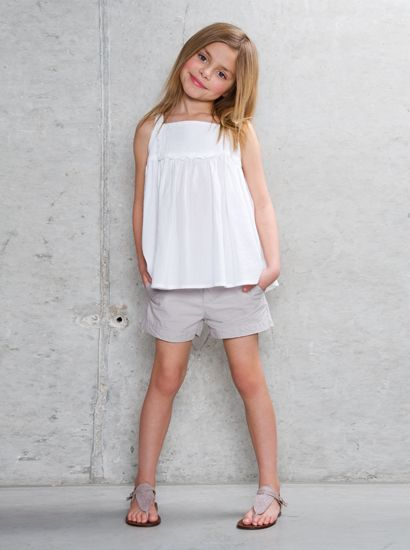 Take The Short Cut* - Designer Girls Fashion Looks - Clothing at Elias & Grace Oliver and S popover shortened?