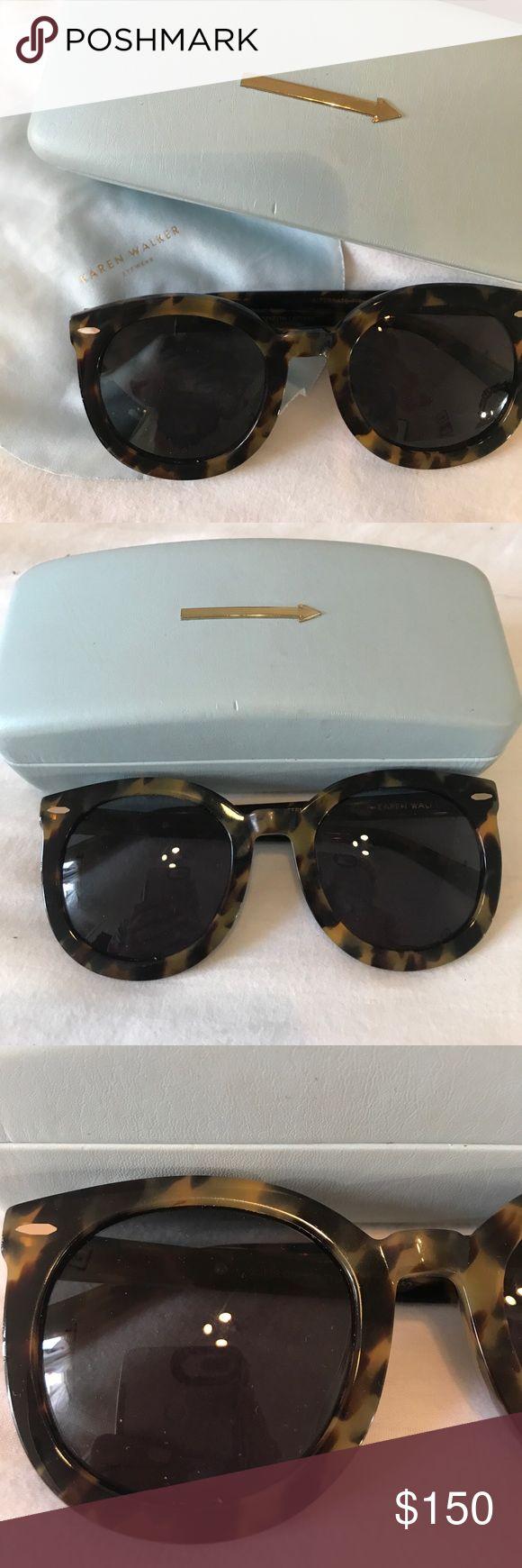 Karen Walker Sunglasses Super Duper Strength Sunglasses. Worn a handful of times. Karen Walker Accessories Sunglasses