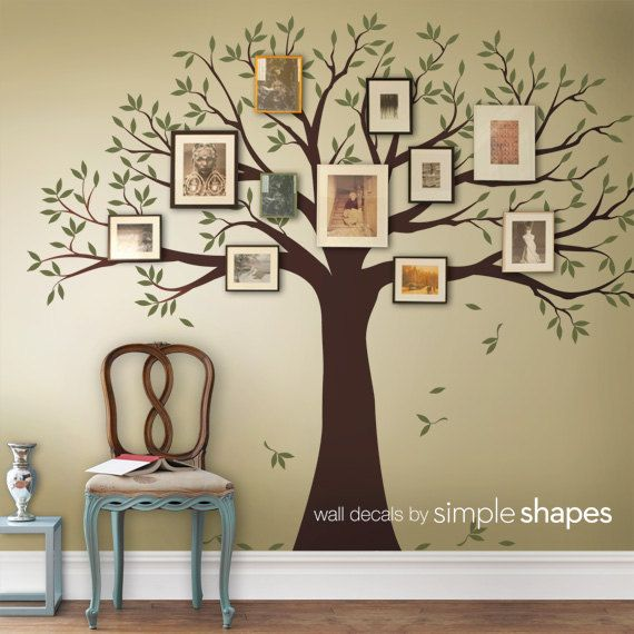 Best Family Tree Wall Ideas On Pinterest Family Tree Mural - Vinyl wall decals bed bath and beyond