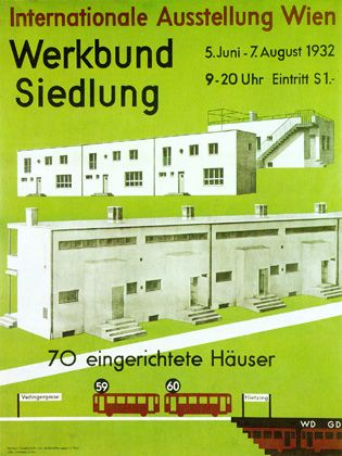 Colonia werkbund de viena werkbundsiedlung wien es un for Produktdesign wien