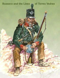 1810 Rifleman of the 60th Rifles at Bussaco and the Lines of Torres Vedras during the Peninsular War