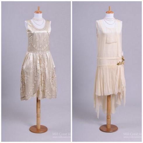 Сшить платье 20х годов