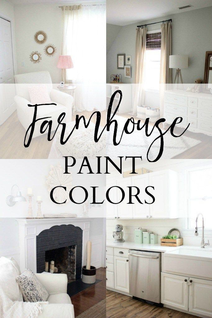 34 best images about paint colors for house on pinterest for Farmhouse paint colors interior