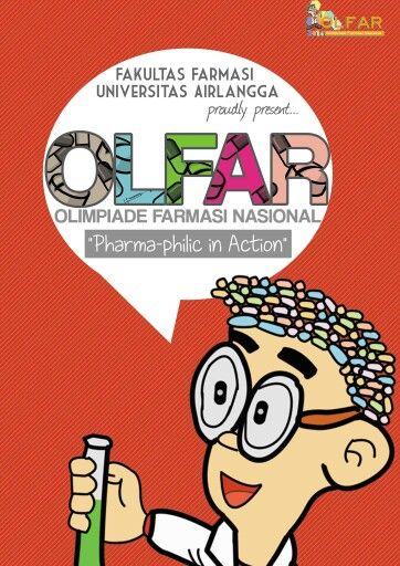 FFUA mengadakan OLFAR 2014 | Olimpiade Farmasi untuk siswa SMA/SMK/sederajat | selekda 16 Februari 2014 serentak di 20 kota di Indonesia | for more information http://olimpiadefarmasi.com/