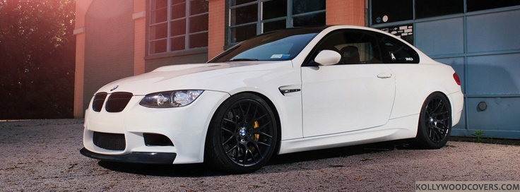 White 2013 #BMW M3... All cars look better in white, love it!