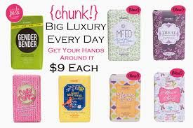 Big Chunk Bars are $9 and they are huge! Shop online at https://erinperalta.po.sh
